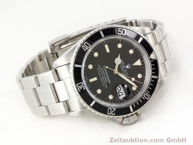 Used luxury watch Rolex Submariner steel automatic Kal. 3135 Ref. 16610  | 141154 03