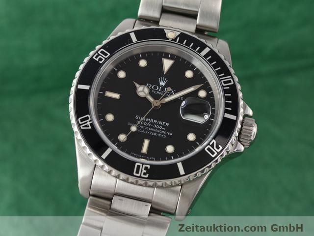 Used luxury watch Rolex Submariner steel automatic Kal. 3135 Ref. 16610  | 141154 04