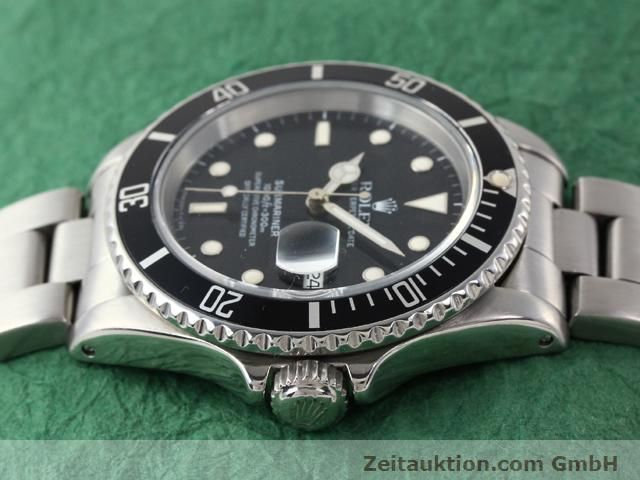 Used luxury watch Rolex Submariner steel automatic Kal. 3135 Ref. 16610  | 141154 05