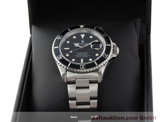Used luxury watch Rolex Submariner steel automatic Kal. 3135 Ref. 16610  | 141154 07