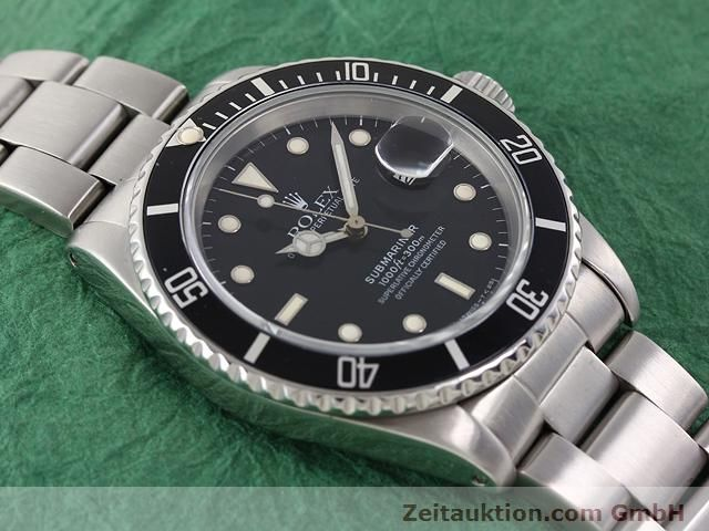Used luxury watch Rolex Submariner steel automatic Kal. 3135 Ref. 16610  | 141154 14