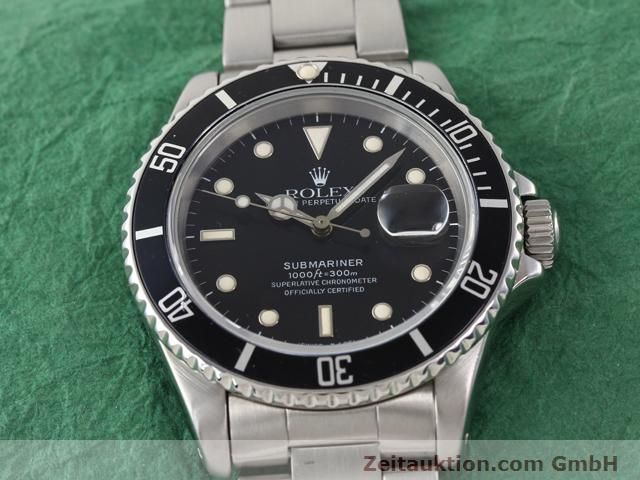 Used luxury watch Rolex Submariner steel automatic Kal. 3135 Ref. 16610  | 141154 15