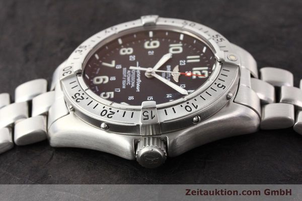 Used luxury watch Breitling Superocean steel automatic Kal. ETA 2824-2 Ref. A17345  | 141158 05