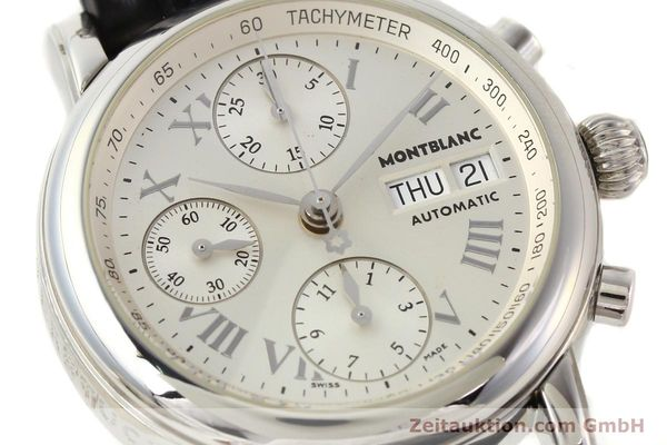 Used luxury watch Montblanc Meisterstück steel automatic Kal. 4810501 ETA 7750 Ref. 7016  | 141159 02