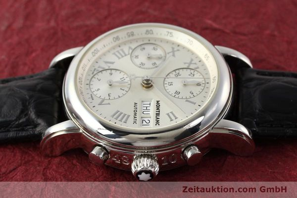 Used luxury watch Montblanc Meisterstück steel automatic Kal. 4810501 ETA 7750 Ref. 7016  | 141159 05