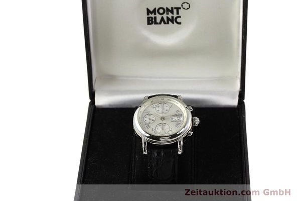 Used luxury watch Montblanc Meisterstück steel automatic Kal. 4810501 ETA 7750 Ref. 7016  | 141159 07