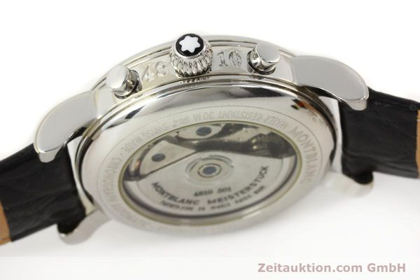 Used luxury watch Montblanc Meisterstück steel automatic Kal. 4810501 ETA 7750 Ref. 7016  | 141159 08