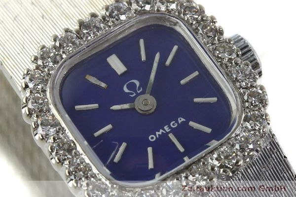 Used luxury watch Omega * 18 ct white gold manual winding Kal. 650 Ref. 93522  | 141161 02