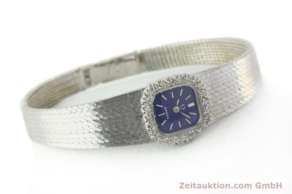 Used luxury watch Omega * 18 ct white gold manual winding Kal. 650 Ref. 93522  | 141161 03