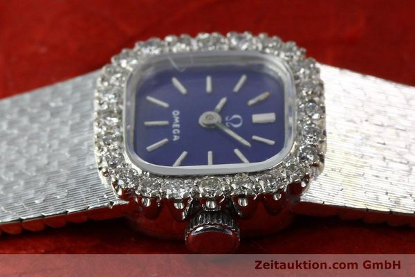 Used luxury watch Omega * 18 ct white gold manual winding Kal. 650 Ref. 93522  | 141161 05