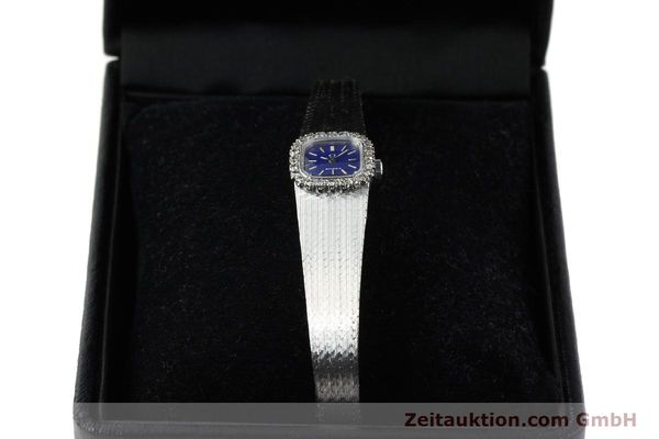 Used luxury watch Omega * 18 ct white gold manual winding Kal. 650 Ref. 93522  | 141161 07