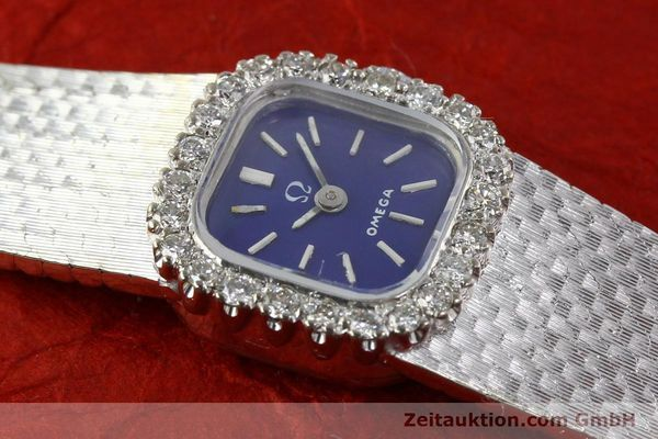 Used luxury watch Omega * 18 ct white gold manual winding Kal. 650 Ref. 93522  | 141161 15