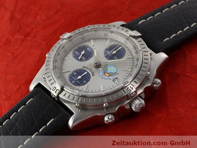 Used luxury watch Breitling Chronomat steel automatic Kal. B13 ETA 7750 Ref. A13048  | 141162 01