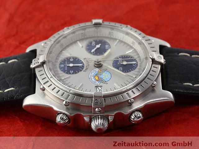 Used luxury watch Breitling Chronomat steel automatic Kal. B13 ETA 7750 Ref. A13048  | 141162 06