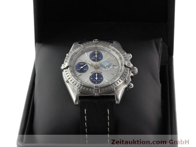 Used luxury watch Breitling Chronomat steel automatic Kal. B13 ETA 7750 Ref. A13048  | 141162 08