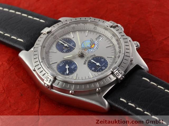 Used luxury watch Breitling Chronomat steel automatic Kal. B13 ETA 7750 Ref. A13048  | 141162 12