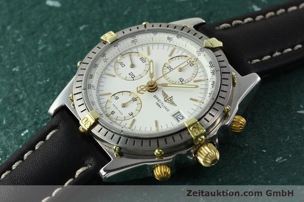 Used luxury watch Breitling Chronomat gilt steel automatic Ref. B13047  | 141165 01