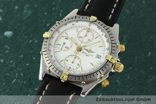 Used luxury watch Breitling Chronomat gilt steel automatic Ref. B13047  | 141165 04