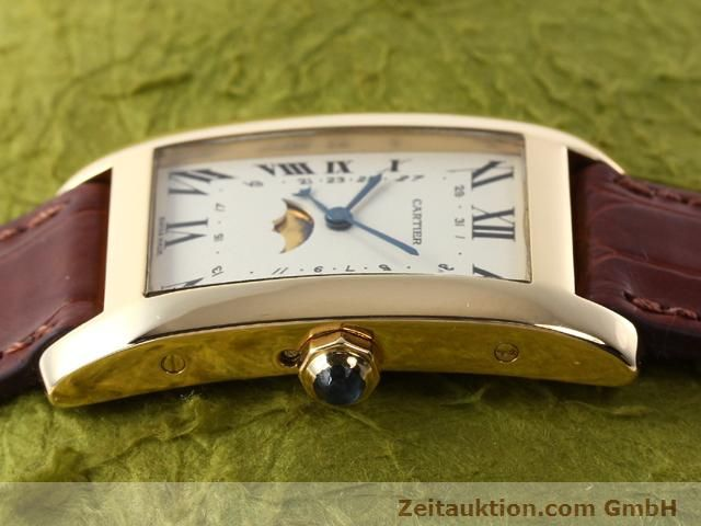 Used luxury watch Cartier Tank 18 ct gold quartz Kal. 19 (619)  | 141167 05