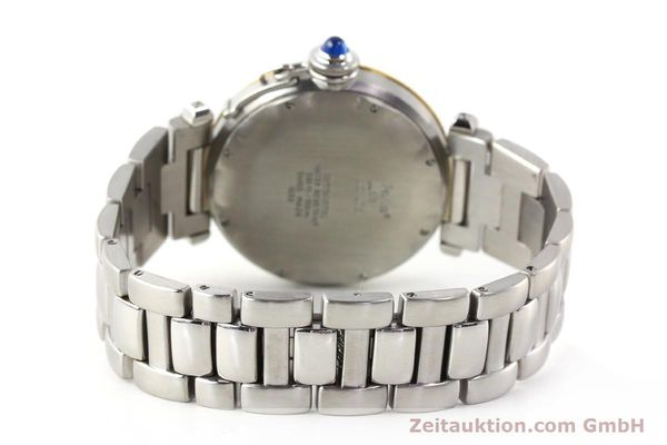 Used luxury watch Cartier Pasha steel / gold automatic Kal. 050 ETA 2892A2  | 141168 11