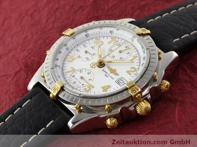 Used luxury watch Breitling Chronomat gilt steel automatic Kal. B13 ETA 7750 Ref. B130501  | 141169 01