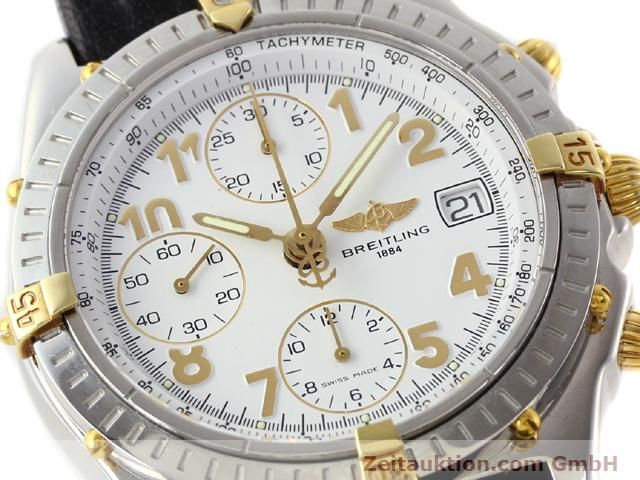 Used luxury watch Breitling Chronomat gilt steel automatic Kal. B13 ETA 7750 Ref. B130501  | 141169 02