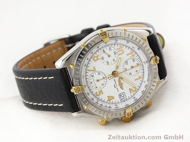 Used luxury watch Breitling Chronomat gilt steel automatic Kal. B13 ETA 7750 Ref. B130501  | 141169 03