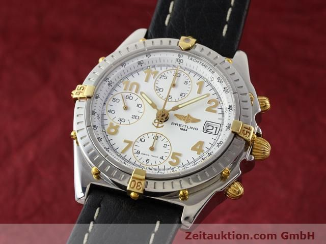 Used luxury watch Breitling Chronomat gilt steel automatic Kal. B13 ETA 7750 Ref. B130501  | 141169 04
