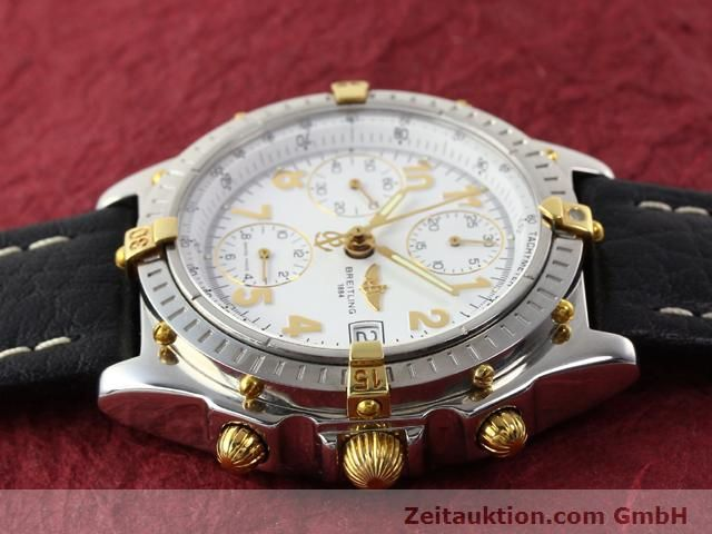 Used luxury watch Breitling Chronomat gilt steel automatic Kal. B13 ETA 7750 Ref. B130501  | 141169 05