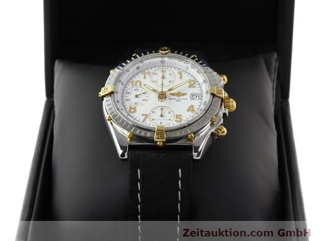 Used luxury watch Breitling Chronomat gilt steel automatic Kal. B13 ETA 7750 Ref. B130501  | 141169 07