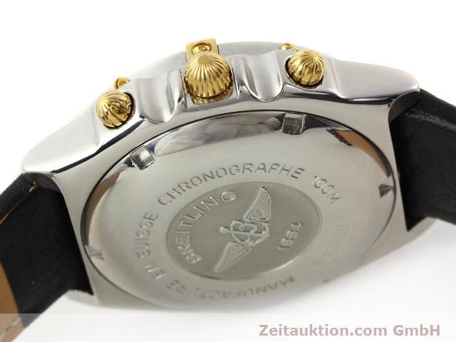 Used luxury watch Breitling Chronomat gilt steel automatic Kal. B13 ETA 7750 Ref. B130501  | 141169 08