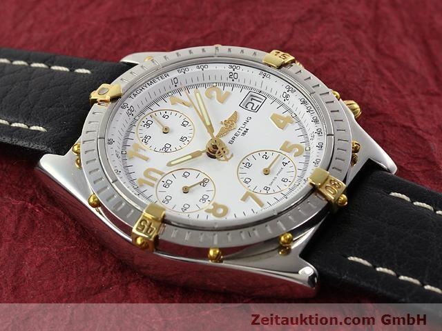 Used luxury watch Breitling Chronomat gilt steel automatic Kal. B13 ETA 7750 Ref. B130501  | 141169 11