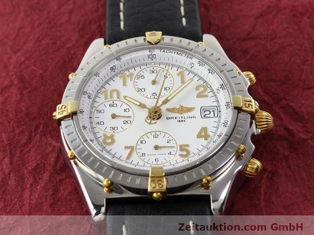 Used luxury watch Breitling Chronomat gilt steel automatic Kal. B13 ETA 7750 Ref. B130501  | 141169 12