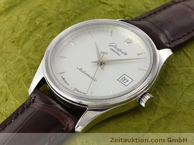 Used luxury watch Glashütte Senator steel automatic Kal. 10-30 Ref. 1838  | 141171 01