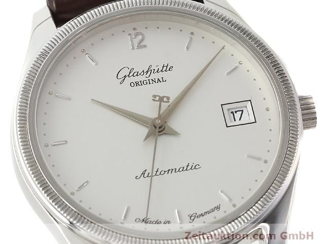 Used luxury watch Glashütte Senator steel automatic Kal. 10-30 Ref. 1838  | 141171 02