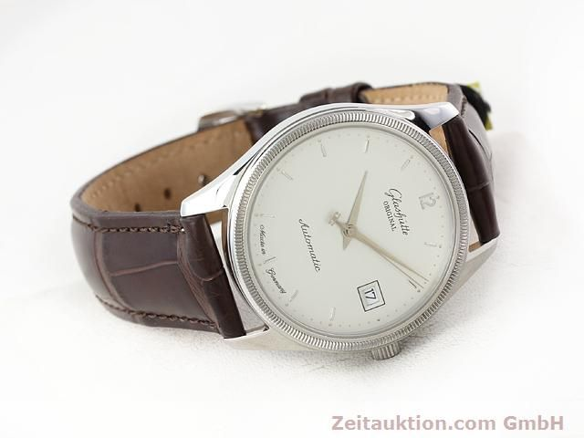 Used luxury watch Glashütte Senator steel automatic Kal. 10-30 Ref. 1838  | 141171 03