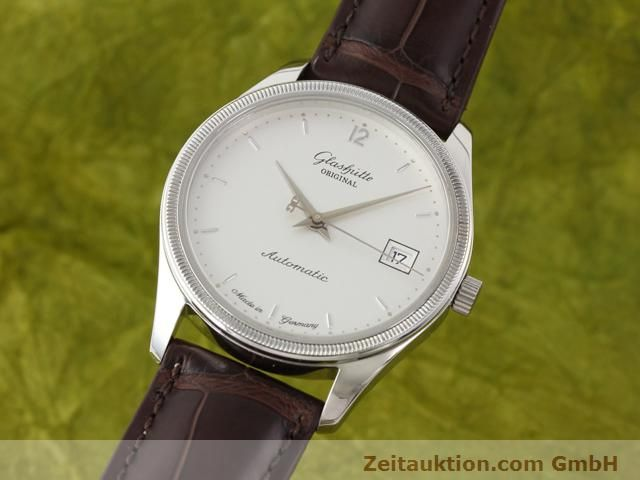 Used luxury watch Glashütte Senator steel automatic Kal. 10-30 Ref. 1838  | 141171 04