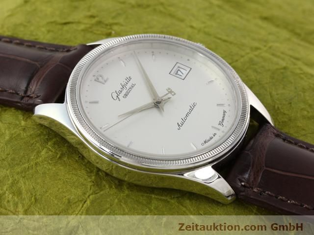 Used luxury watch Glashütte Senator steel automatic Kal. 10-30 Ref. 1838  | 141171 13