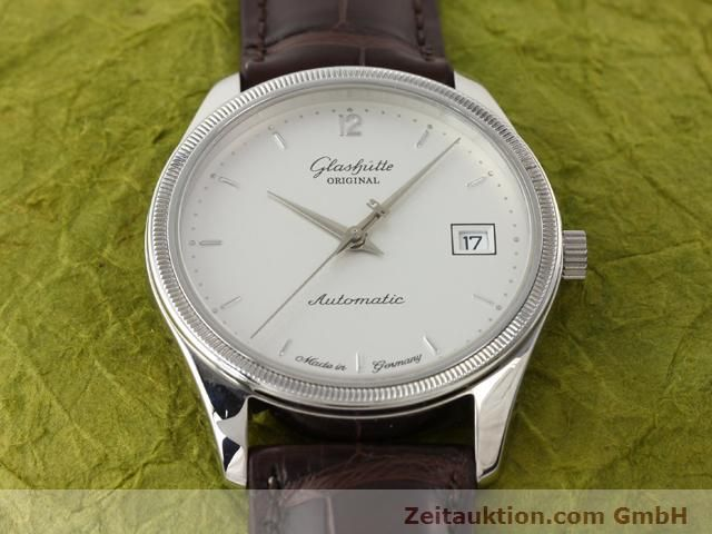 Used luxury watch Glashütte Senator steel automatic Kal. 10-30 Ref. 1838  | 141171 14