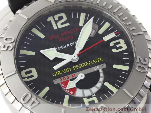 Used luxury watch Girard Perregaux Sea Hawk steel automatic Kal. 330C Ref. 49905  | 141172 02
