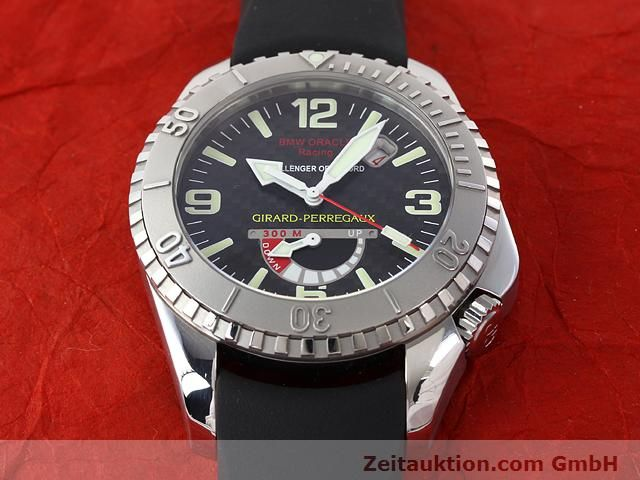 Used luxury watch Girard Perregaux Sea Hawk steel automatic Kal. 330C Ref. 49905  | 141172 16