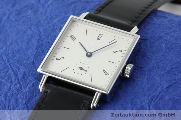 Used luxury watch Nomos Tetra steel manual winding  | 141174 01