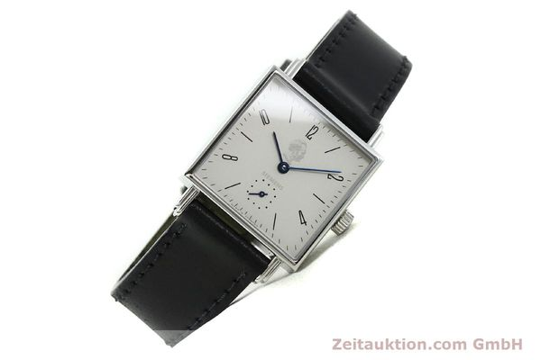 Used luxury watch Nomos Tetra steel manual winding  | 141174 03