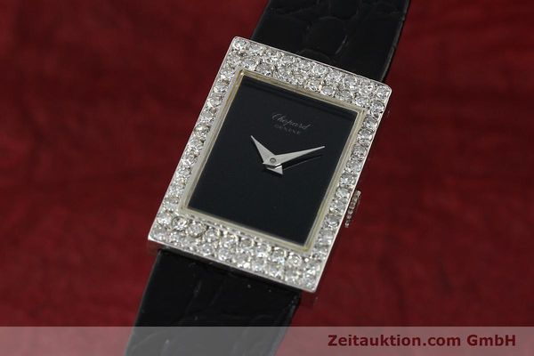 Used luxury watch Chopard * 18 ct white gold manual winding Kal. A.S. 1977-2 Ref. G2964.1  | 141179 04