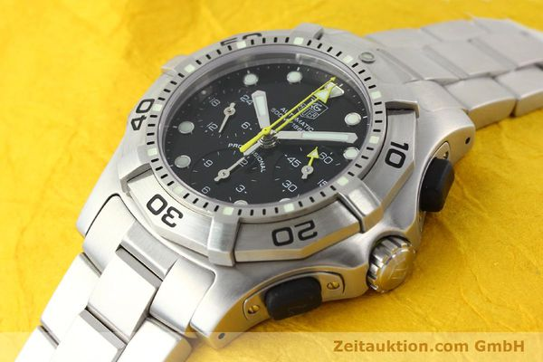 Used luxury watch Tag Heuer Aquagraph steel automatic Kal. 60 Ref. CN211A  | 141185 01