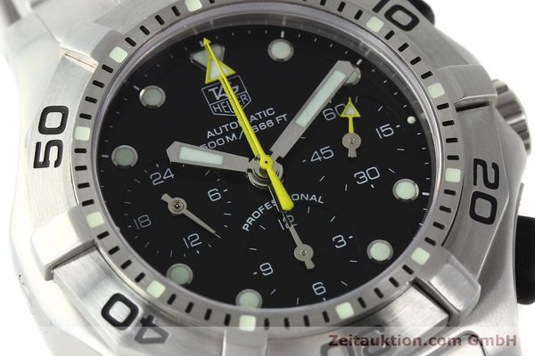 Used luxury watch Tag Heuer Aquagraph steel automatic Kal. 60 Ref. CN211A  | 141185 02