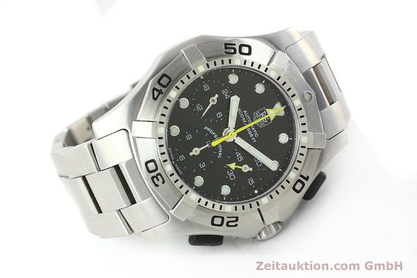 Used luxury watch Tag Heuer Aquagraph steel automatic Kal. 60 Ref. CN211A  | 141185 03