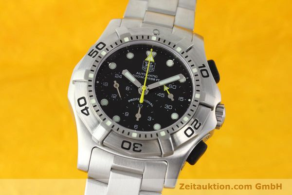 Used luxury watch Tag Heuer Aquagraph steel automatic Kal. 60 Ref. CN211A  | 141185 04
