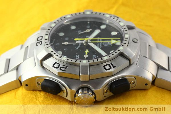 Used luxury watch Tag Heuer Aquagraph steel automatic Kal. 60 Ref. CN211A  | 141185 05