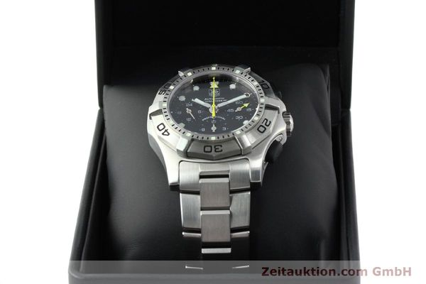 Used luxury watch Tag Heuer Aquagraph steel automatic Kal. 60 Ref. CN211A  | 141185 07